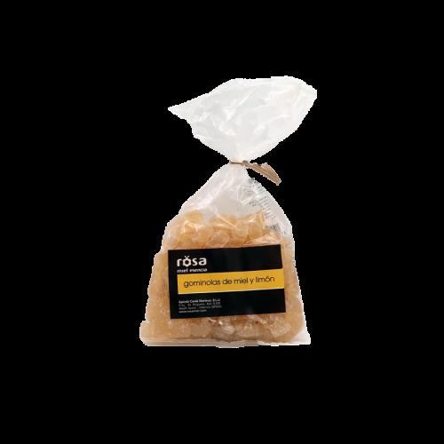 Gominolas de miel y limón